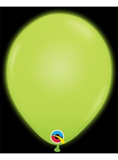 Balões de Led Q-Lite Verde – 5 unidades