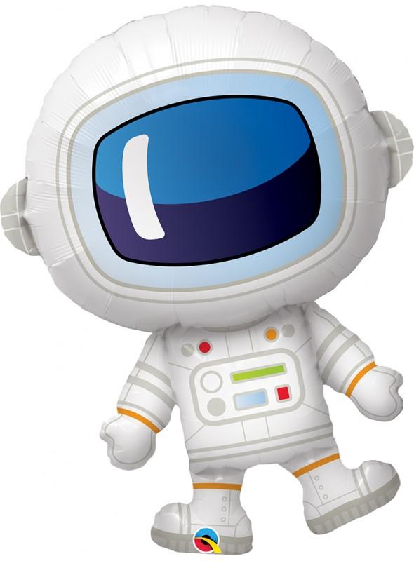 Balão Metalizado Astronauta Qualatex – 1 unidade