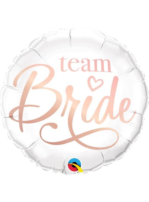 Balão Metalizado Time da Noiva Casamento Qualatex – 1 unidade