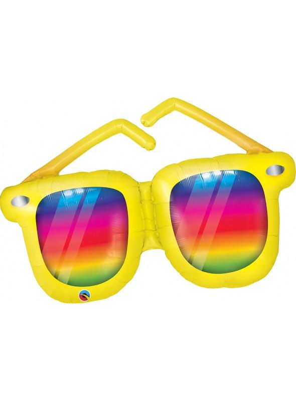 Balão Metalizado Óculos de Sol Qualatex – 1 unidade