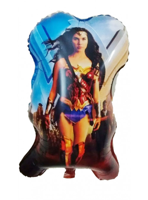 Balão Metalizado Mulher Maravilha – 1 unidade