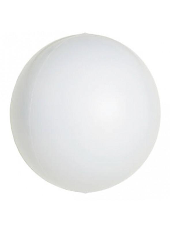 Balão Metalizado Esphera Globo Branco – 1 unidade