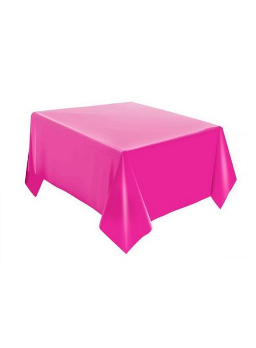 Toalha de Mesa Descartável de Luxo Rosa Pink– 1 unidade