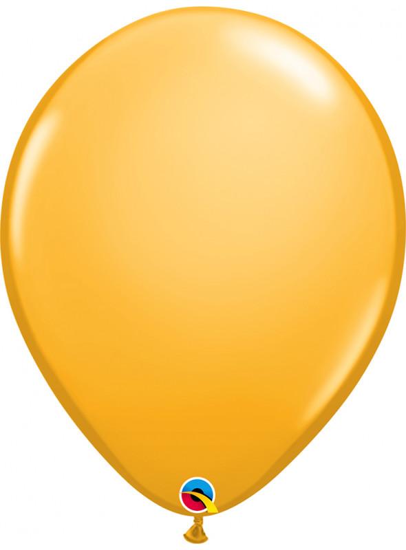 Balão de Látex Amarelo Ouro 16 Polegadas – 1 unidade
