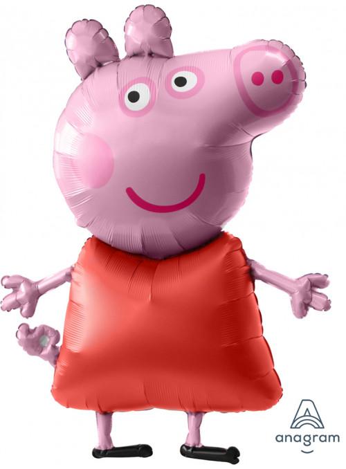 Balão Metalizado Airwalker Gigante Peppa Pig – 1 unidade