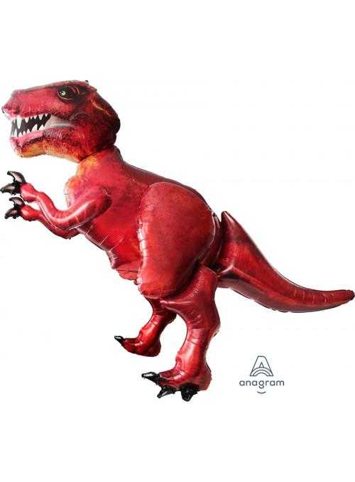 Balão Metalizado Airwalker Gigante Dinossauro Rex – 1 unidade