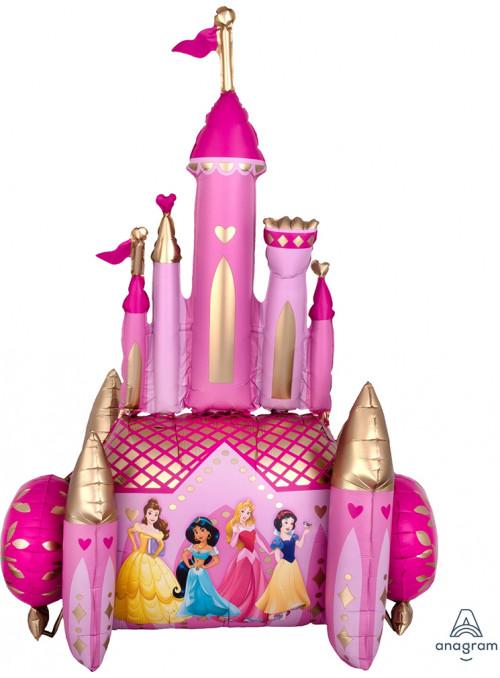 Balão Metalizado Airwalker Gigante Castelo das Princesas – 1 unidade