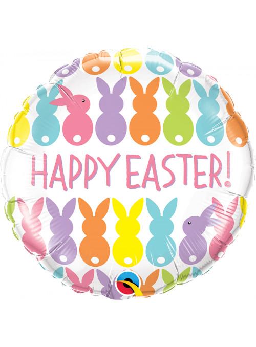 Balão Metalizado Happy Easter