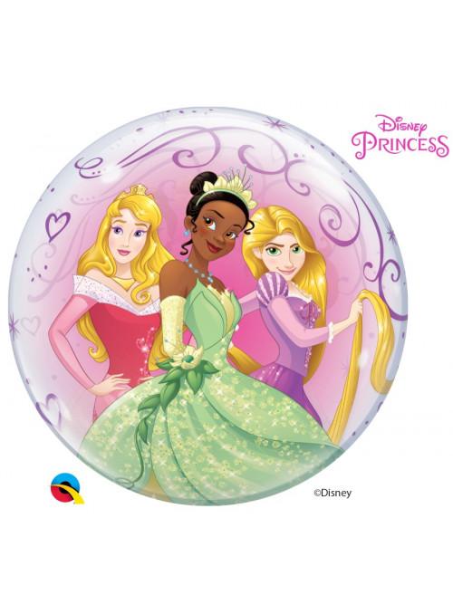 Balão Bubble Princesas Da Disney Qualatex 22 Polegadas 56cm