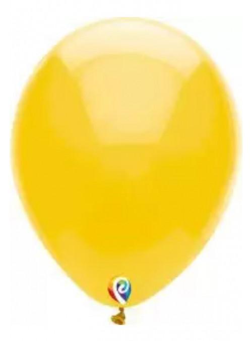 Balões Amarelo 12 Polegadas 30cm Sensacional Qualatex – 15 unidades