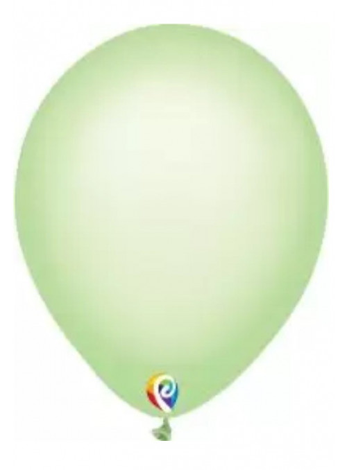 Balões Verde Neon 12 Polegadas 30cm Sensacional Qualatex – 15 unidades