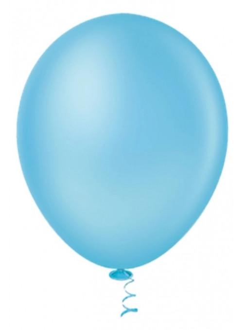 Balões Azul Neon 12 Polegadas 30cm Sensacional Qualatex – 15 unidades