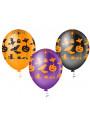 Balões de Látex Halloween Sortidos - 25 unidades