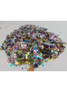 Confetes para Balão Mini Picadinho Colorido 50g