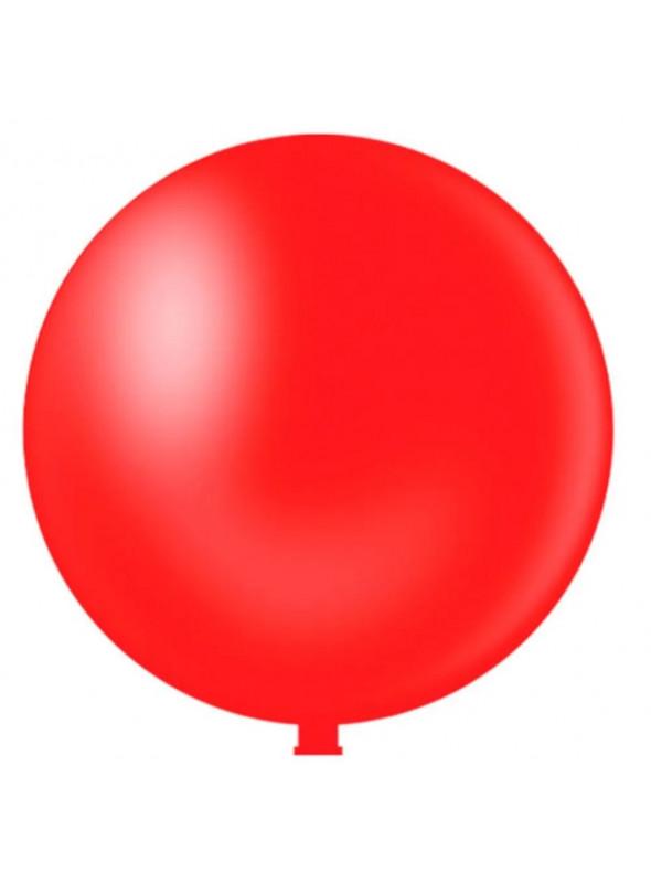 Balão de Látex Gigante Vermelho 40 Polegadas – 1 unidade