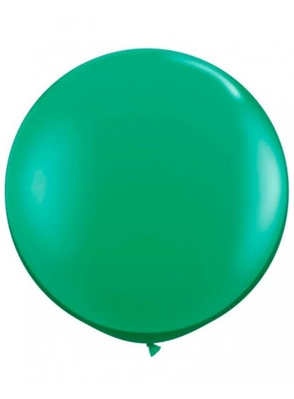Balão de Látex Gigante Verde Escuro 25 Polegadas – 1 unidade