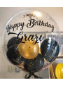 Balão Bubble Personalizado no Gás Hélio - 1 unidade