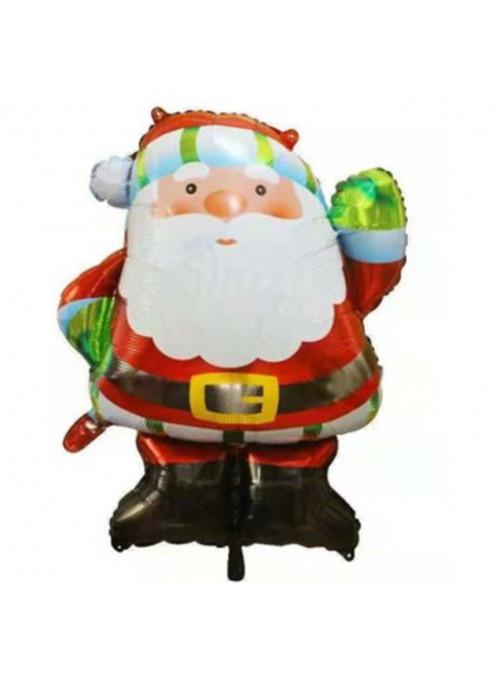 Balão Metalizado Natal Papai Noel 32 Polegadas 69x83cm