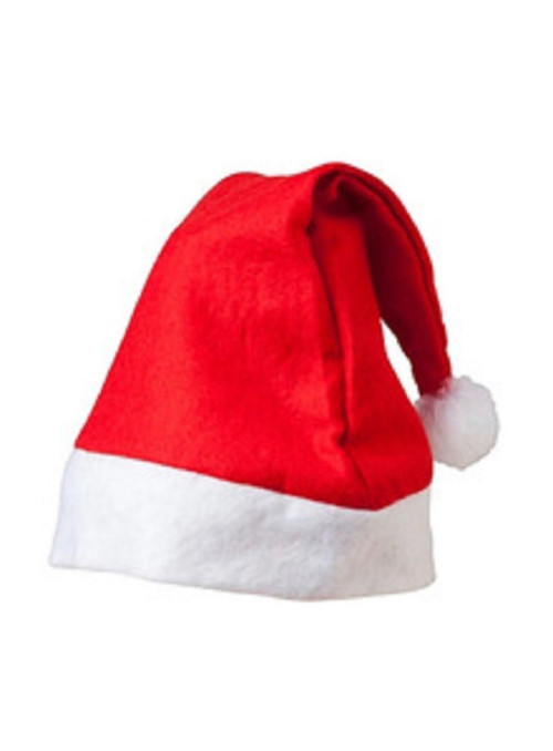 Gorro Papai Noel Natal Feltro Tamanho Único