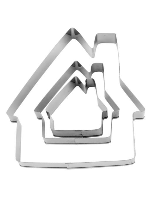 Cortador de Aço Inox Casa Silver Chef 3 unidades