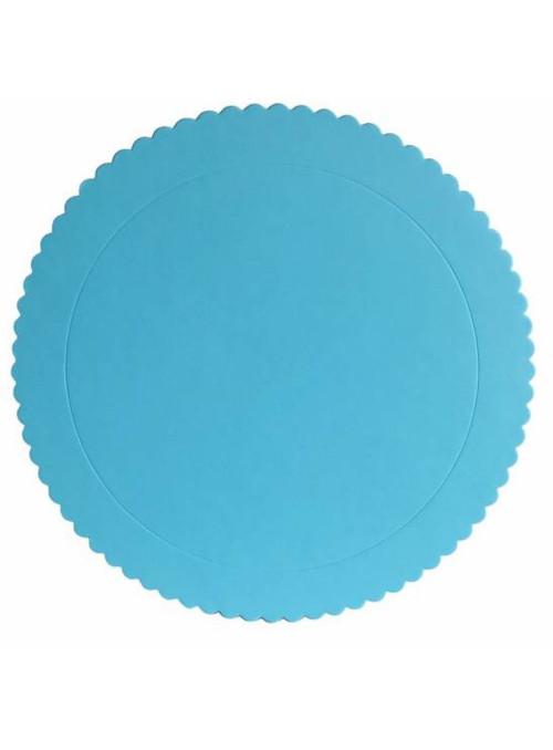 Cake Board Base para Bolo Azul Claro 28cm Silver Chef