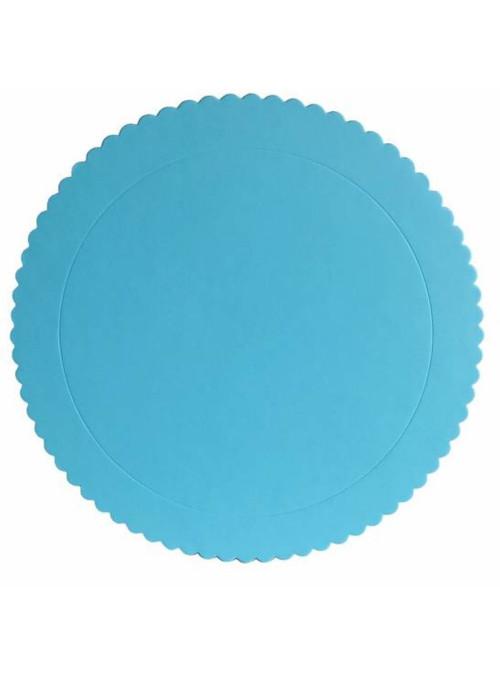 Cake Board Base para Bolo Azul Claro 32cm Silver Chef