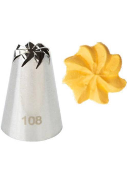 Bico Confeiteiro Confeitaria 108 Silver Chef