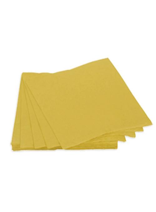 Guardanapos de Papel Folha Dupla Dourado 32x32 Silver Festas – 20 unidades