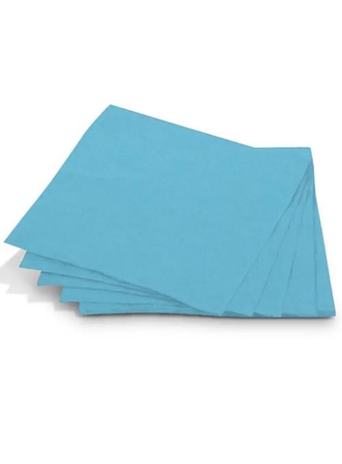 Guardanapos de Papel Folha Dupla Azul Claro 32x32 Silver Festas – 20 unidades