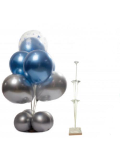 Suporte para 7 Balões 80cm Piffer