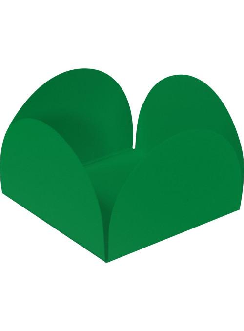 Forminhas para Doces 4 Pétalas Verde 3,0cm x 2,0cm 50 unidades