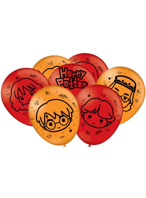 Balões de Látex Harry Potter Kids 9 Polegadas 23cm Festcolor 25 unidades