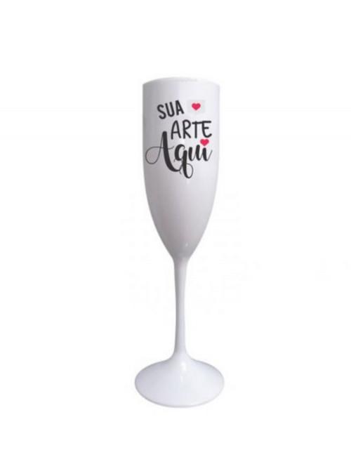 Taça de Champanhe Drink 20,5cm de Altura Personalizada Como Quiser