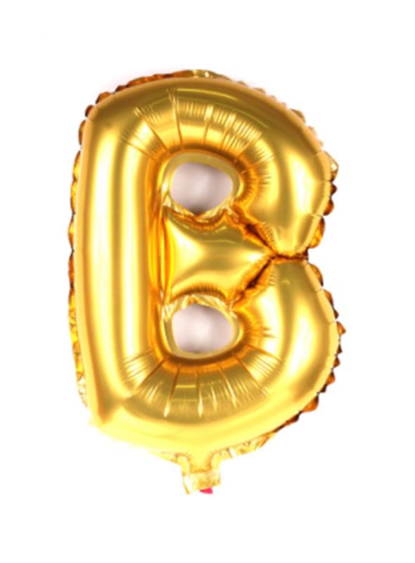 Balões Metalizados Dourado Letras Tamanho P