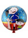 Balão Metalizado Show da Luna 18 Polegadas 45cm Importado