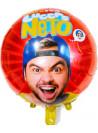 Balão Metalizado Lucas Neto 18 Polegadas 45cm Importado