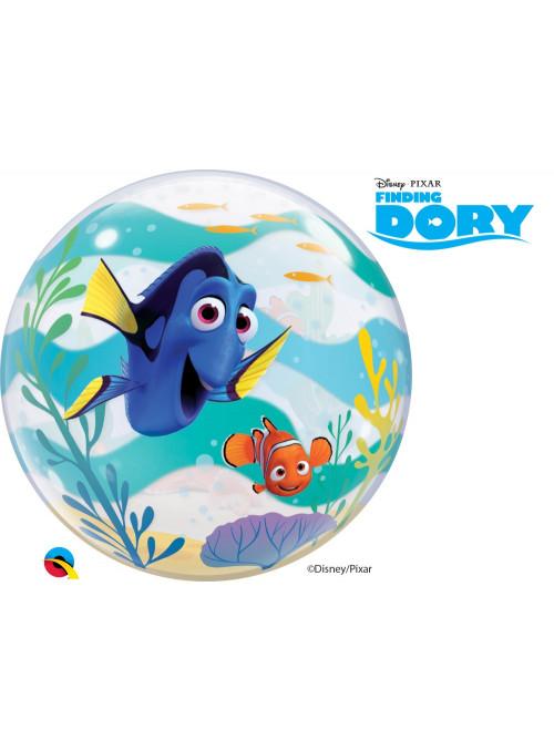 Balão Bubble Procurando Dory 22 Polegadas 56cm Qualatex