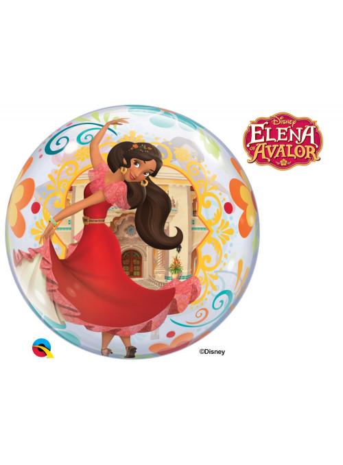 Balão Bubble Elena de Avalor 22 Polegadas 56cm Qualatex