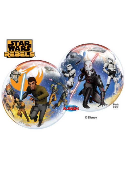 Balão Bubble Star Wars Rebels 22 Polegadas 56cm Qualatex