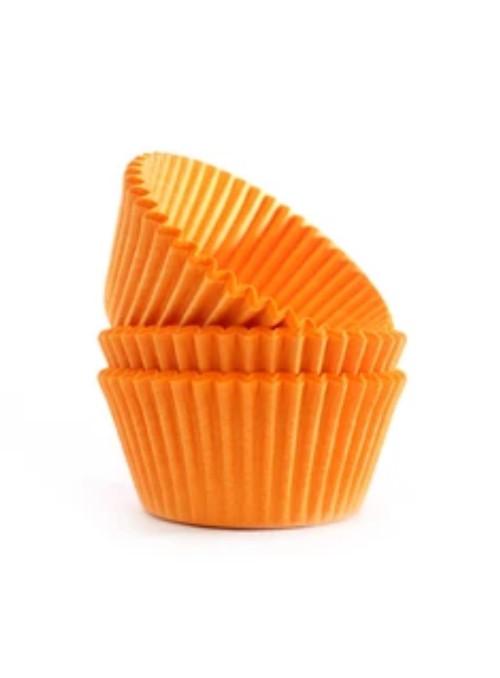 Forminha para Cupcake Laranja Solta Fácil Vai ao Forno Ultrafest 57 Unidades