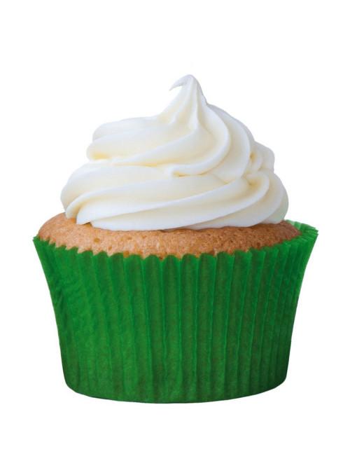 Forminha para Cupcake Verde Solta Fácil Vai ao Forno Ultrafest 57 Unidades