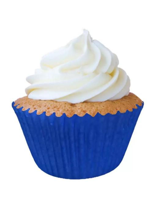 Forminha para Cupcake Azul Solta Fácil Vai ao Forno Ultrafest 57 Unidades
