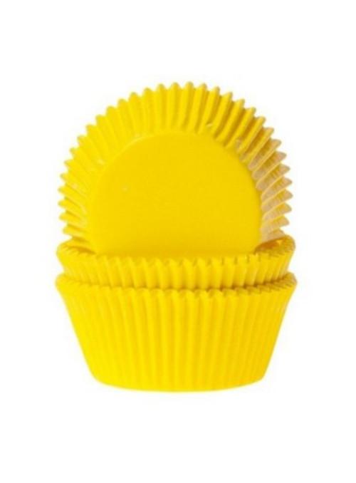 Forminha para Cupcake Amarelo Solta Fácil Vai ao Forno Ultrafest 57 Unidades