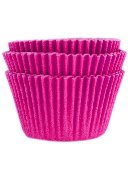 Forminha para Cupcake Rosa Pink Solta Fácil Vai ao Forno Ultrafest 57 Unidades