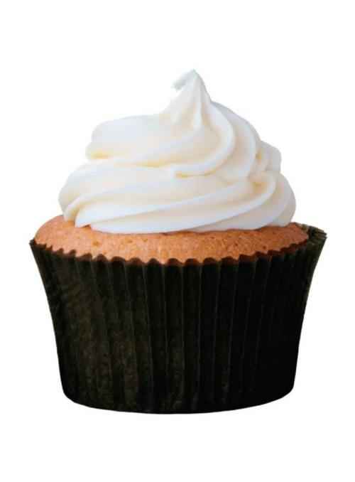 Forminha para Cupcake Preta Solta Fácil Vai ao Forno Ultrafest 57 Unidades