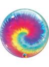 Balão Bubble Bolha Festa Tie Dye 22 Polegadas 56cm Qualatex