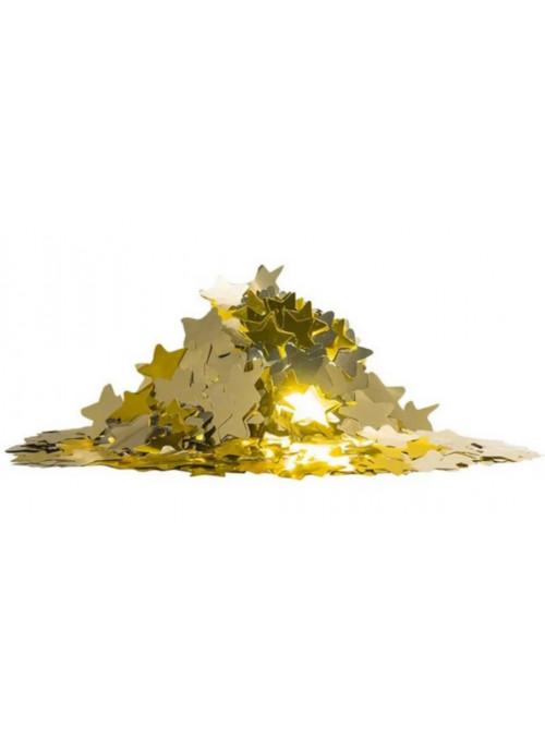 Confetes Decor Estrela Dourado para Balão e Decoração 25 gramas Mundo Bizarro