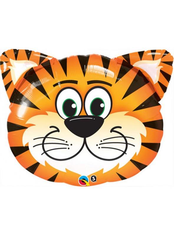 Balões Metalizados Tigre Safari - 5 Unidades