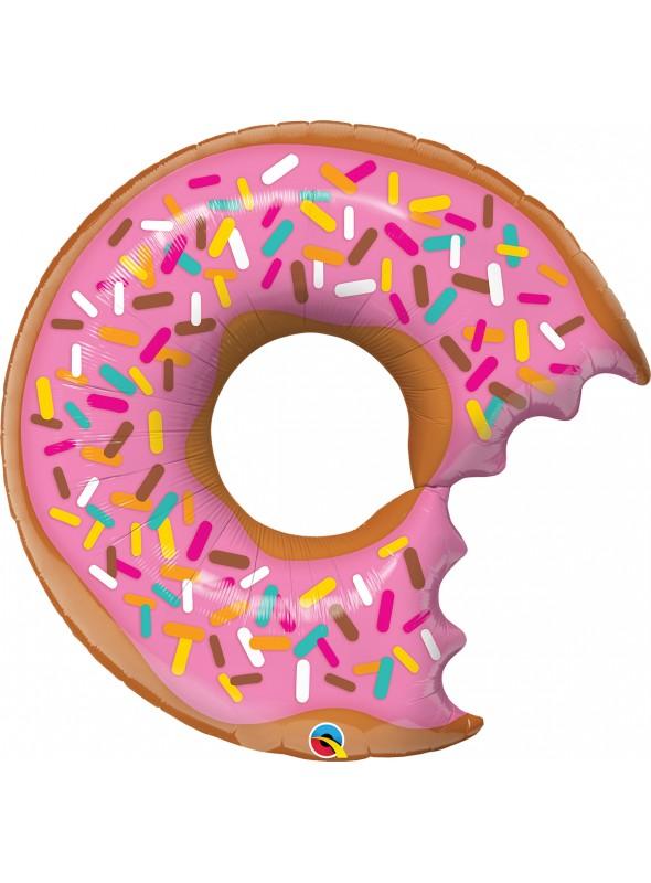 Balão Metalizado Donut 36 Polegadas 91cm Qualatex