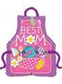 Balão Metalizado Avental Melhor Mãe